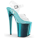 Flamingo 808 Turquoise Pleaser Amazon