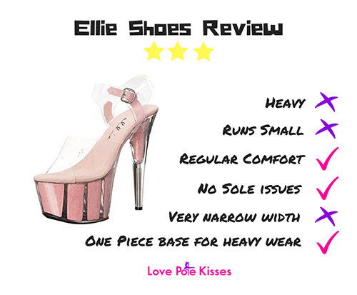 Ellie pole shoes review