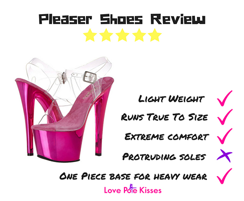 0cdd5707361 How To Find The Best Pole Dancing Shoes - Pleaser Shoes Review