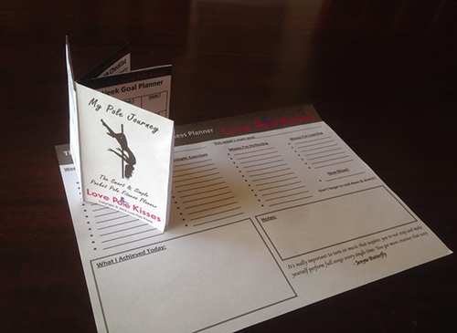 The Pocket Pole Fitness Goal Planner