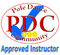 Pole Dance Community Approved Instructor