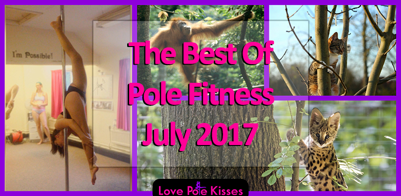 best of pole fitness july